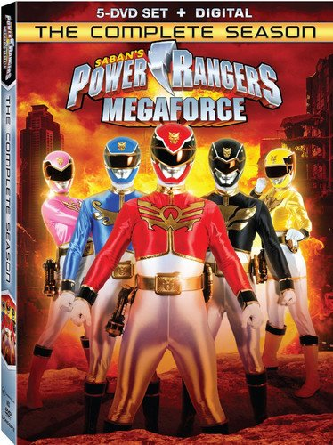 Power Rangers Megaforce: The Complete Season [DVD + Digital]]()