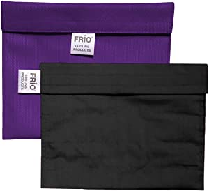 FRIO Cooling Wallet-Extra Large - Purple - Keep Insulin Cool Without Ever Needing icepacks or Refrigeration! Accept NO Imitation! Low Shipping Rates.
