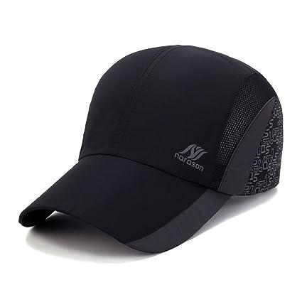 Cho-Five Running Hat Women Black Visors Sport Cap Summer Mesh Trucker Hat  Hiking Hat 4a342a5ddc5