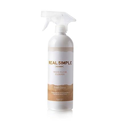 Amazon Real Simple Clean Hardwood Floor Cleaner 24 Ounce