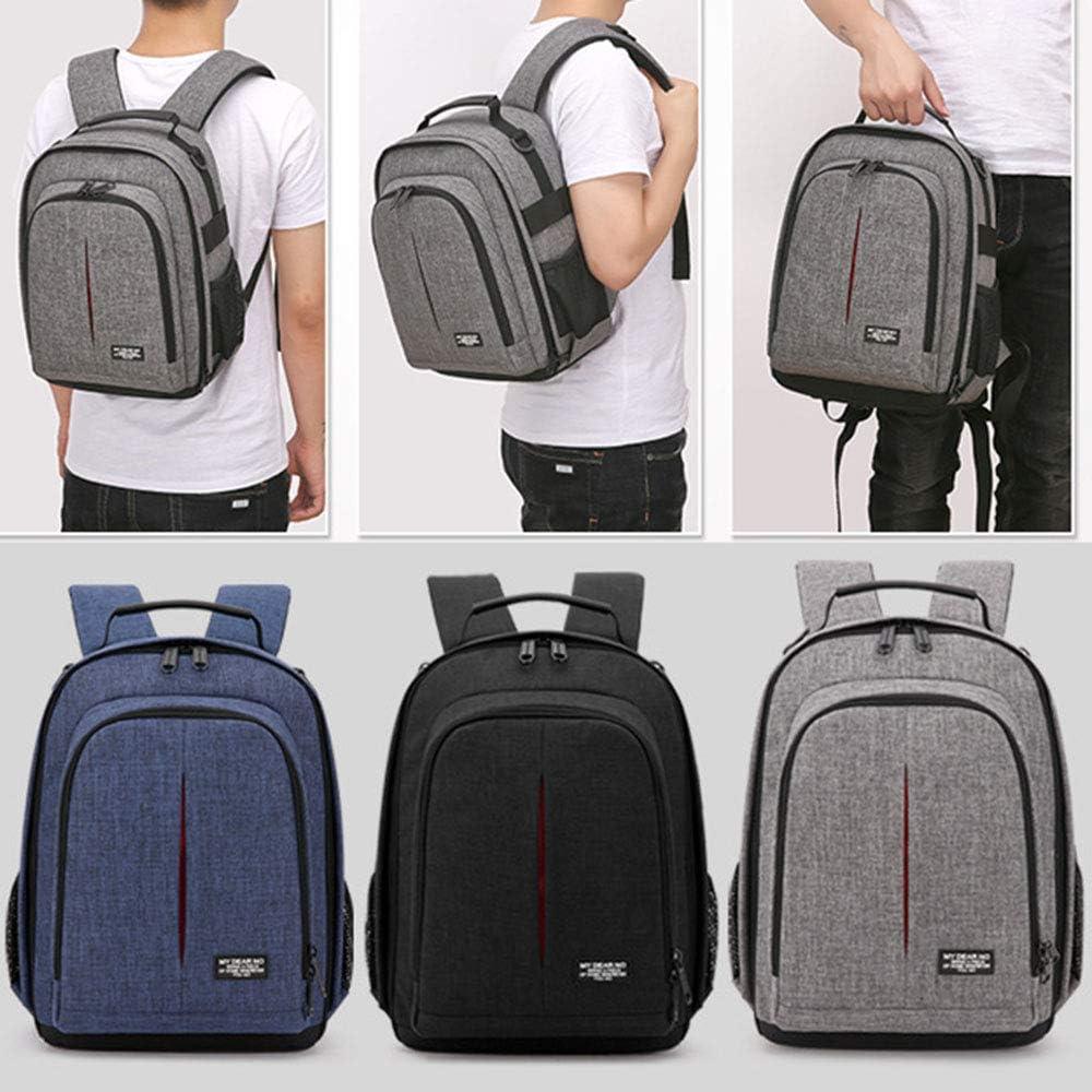 Multi-Functional Waterproof Travel Backpack Large-Capacity Digital Camera Bag Men and Women Outdoor Shockproof Photography Backpack