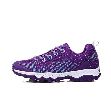 Zapatillas de deporte para mujer, zapatos para caminar: zapatos ligeros para caminar, transpirables