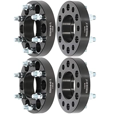 "ECCPP replacement parts 6x135 hub centric Wheel Spacer 1.25"" 6x135mm to 6x135mm 87mm Full Hub Centric Spacers 6 lug Fits for Ford F-150 Raptor Expedition Lincoln Navigator Lincoln Mark LT: Automotive"