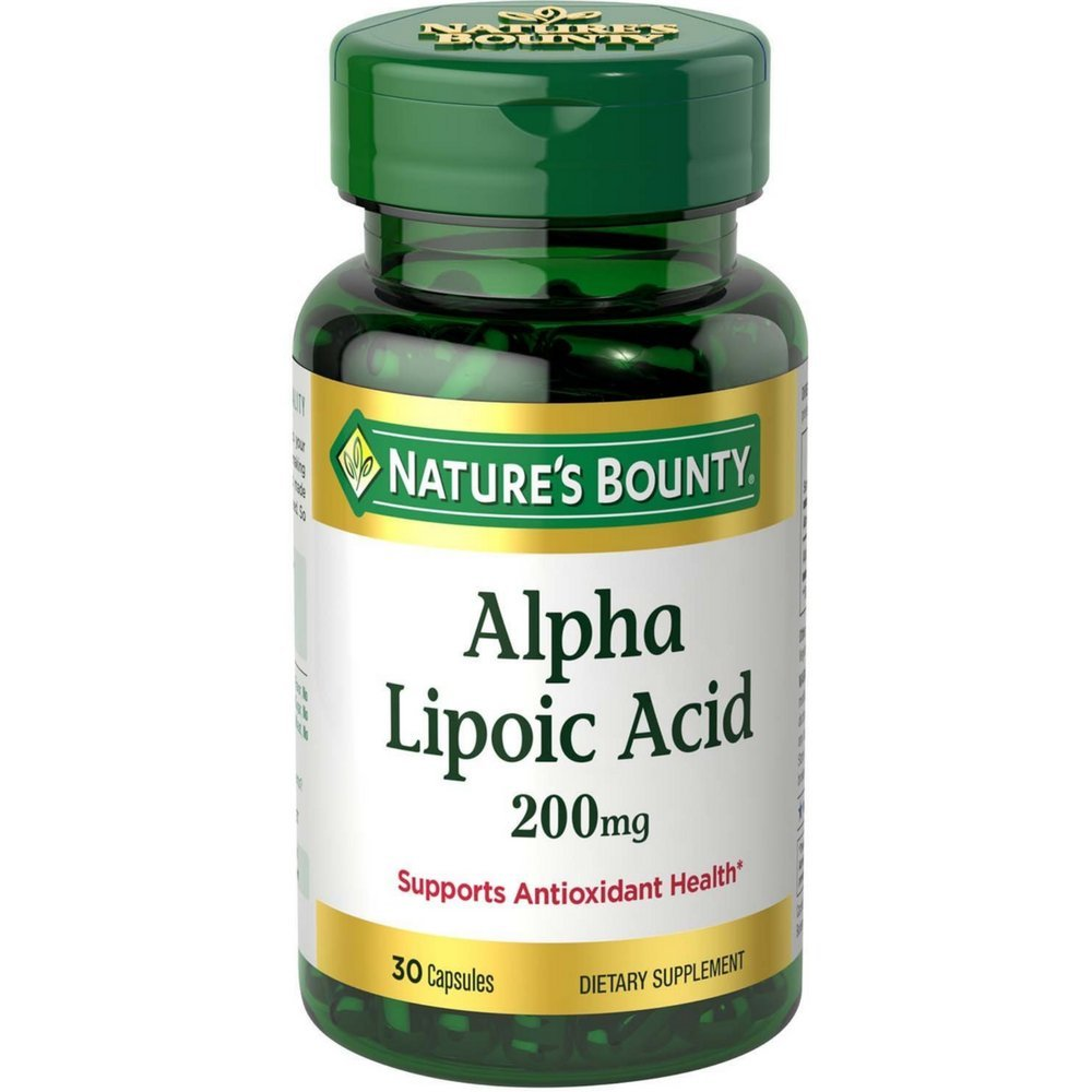 Nature's Bounty Alpha Lipoic Acid 200 mg Capsules 30 (Pack of 11)