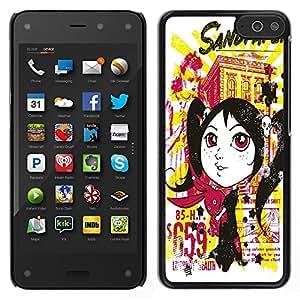 Dragon Case - FOR Amazon Fire Phone - ?all losses are restored - Caja protectora de pl??stico duro de la cubierta Dise?¡Ào Slim Fit