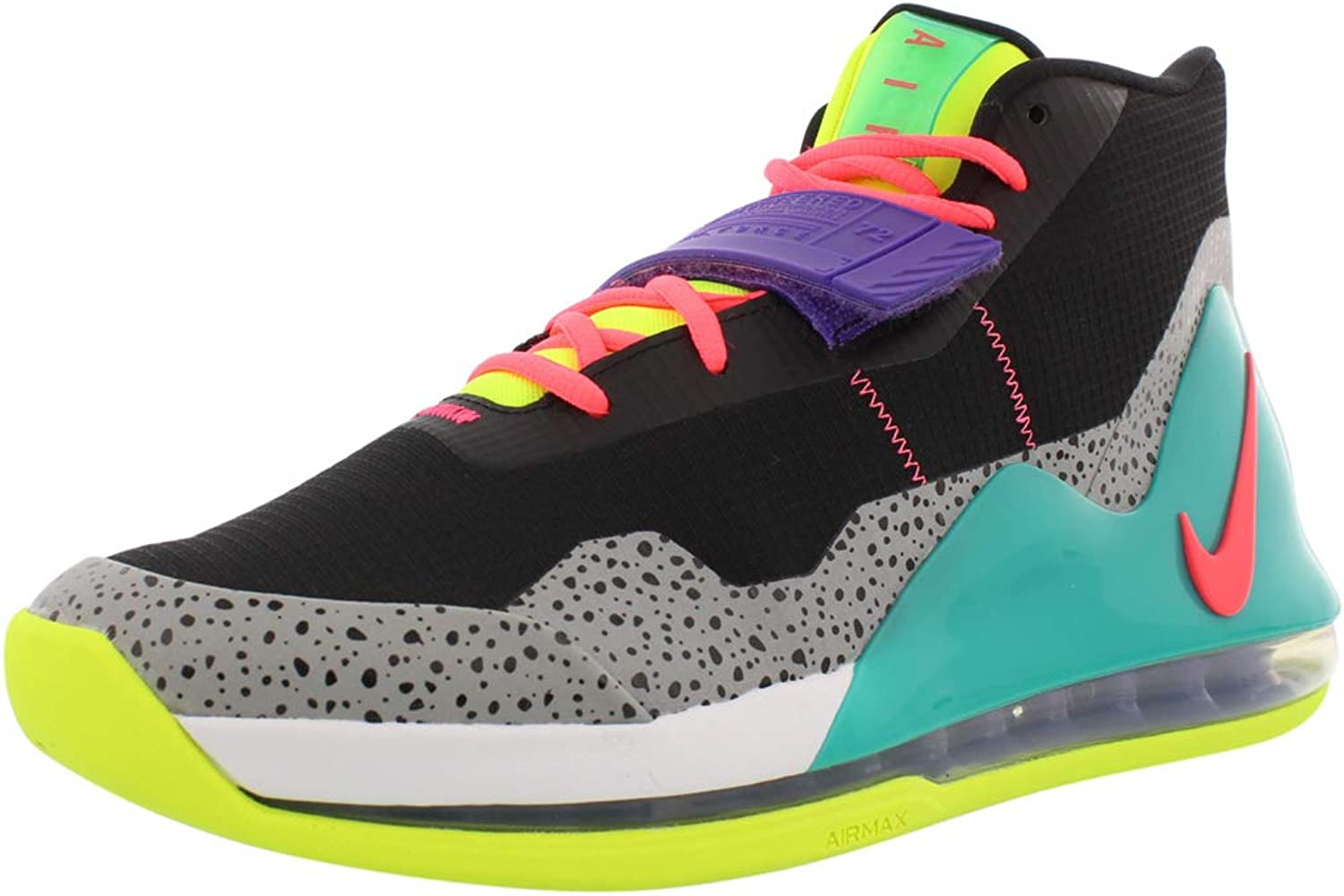 nike air force max basketball review
