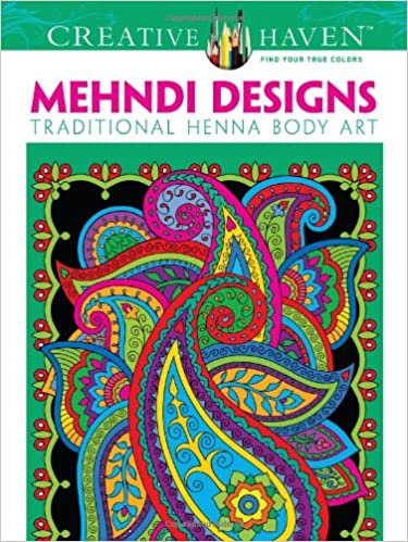 Paisley Designs Coloring Book (Dover Design Coloring Books) by Marty ...