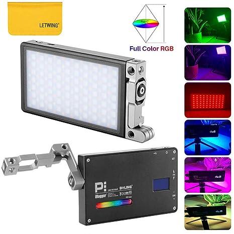 BOLING BL-P1 - Luz LED de Bolsillo LED RGB Regulable 2500 K-8500 K ...