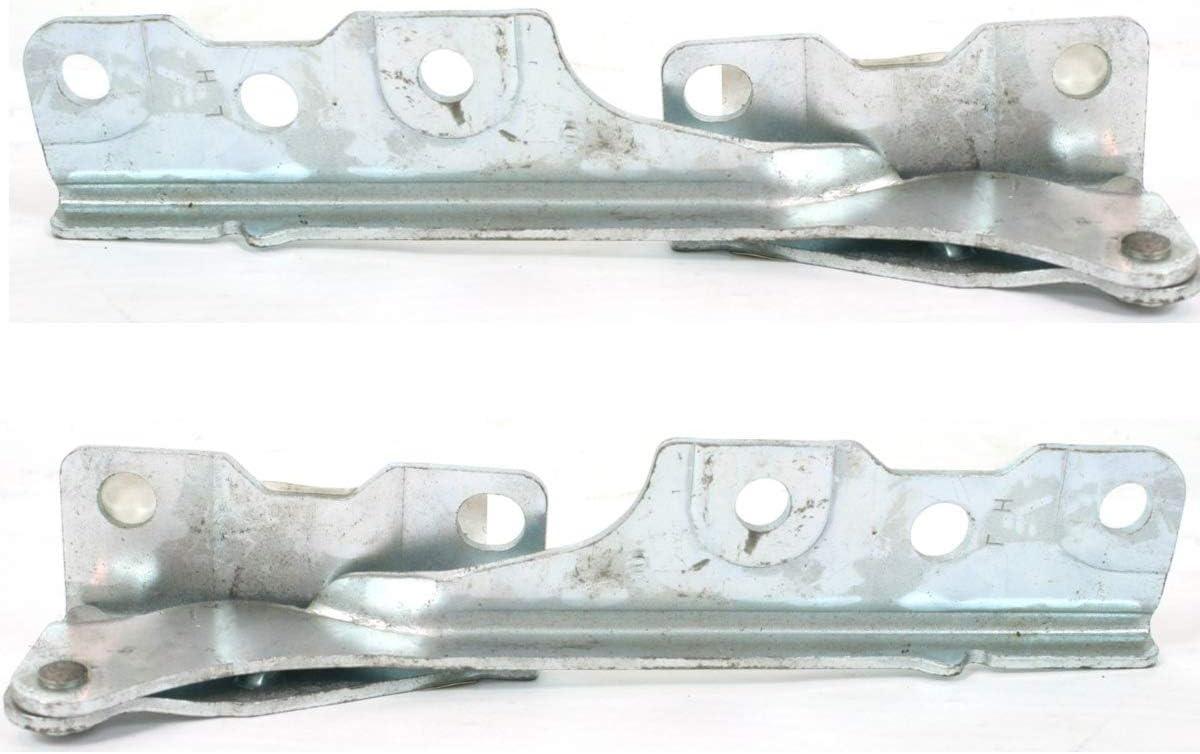 Parts N Go 2002-2003 Mitsubishi Lancer Hood Hinge Pair Driver /& Passenger Side Evo Evolution MI1236107 MR487633