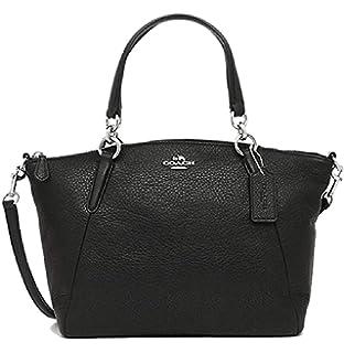 4c178f5039a04 Coach 36625 Pebble Leather Small Kelsey Satchel Black  Handbags ...