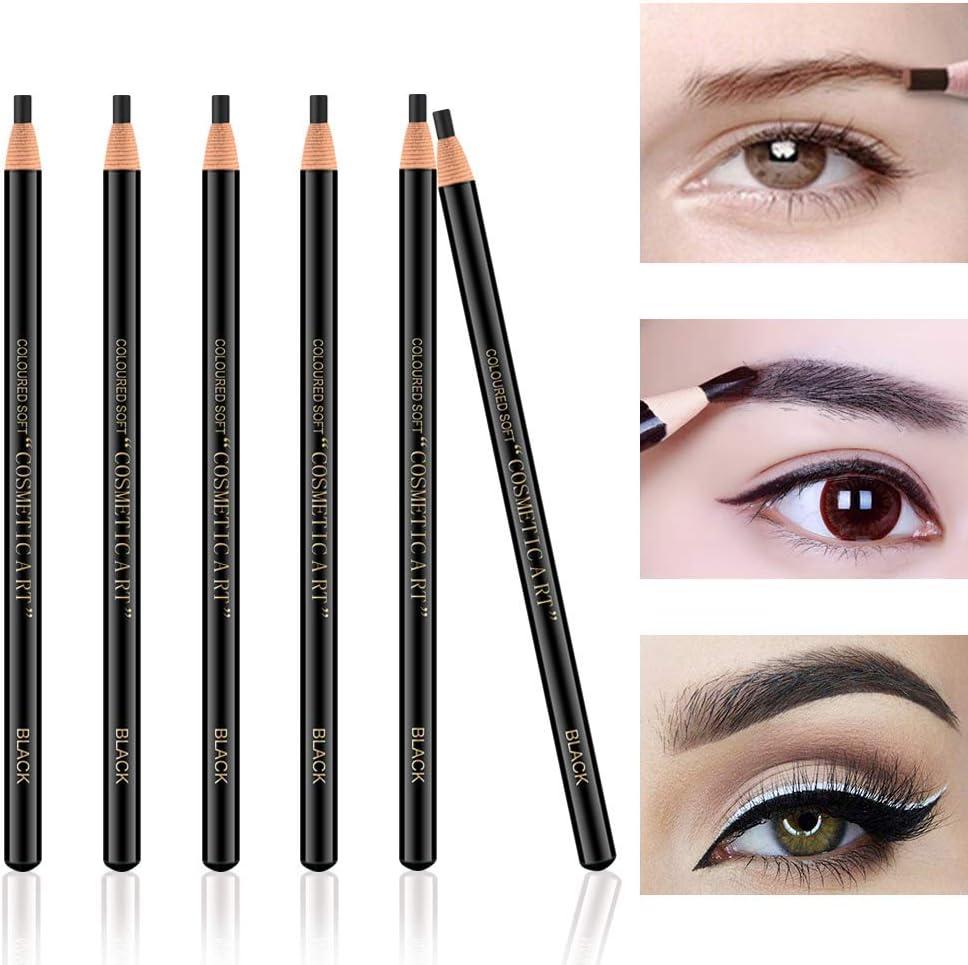 Ownest 6Pcs Pull Cord Peel-off Eyebrow Pencil Tattoo Tattoo Makeup ...