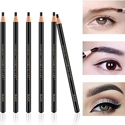Ownest 6Pcs Pull Cord Peel-off Eyebrow Pencil Tattoo Tattoo Makeup ...