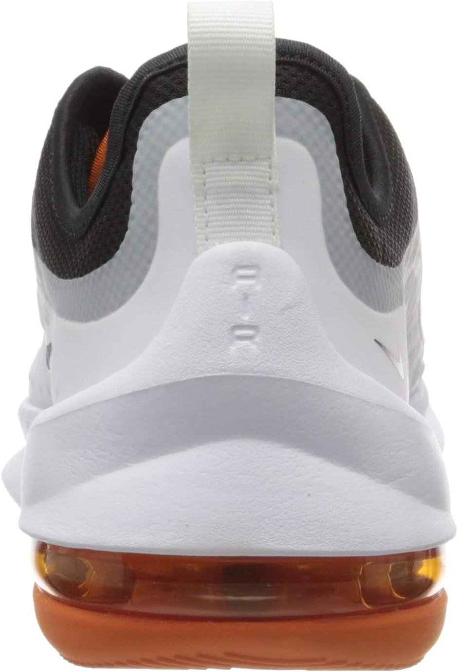 Nike Herren Air Max Axis Sneaker Schwarz Schwarz Weiss Magma Orange