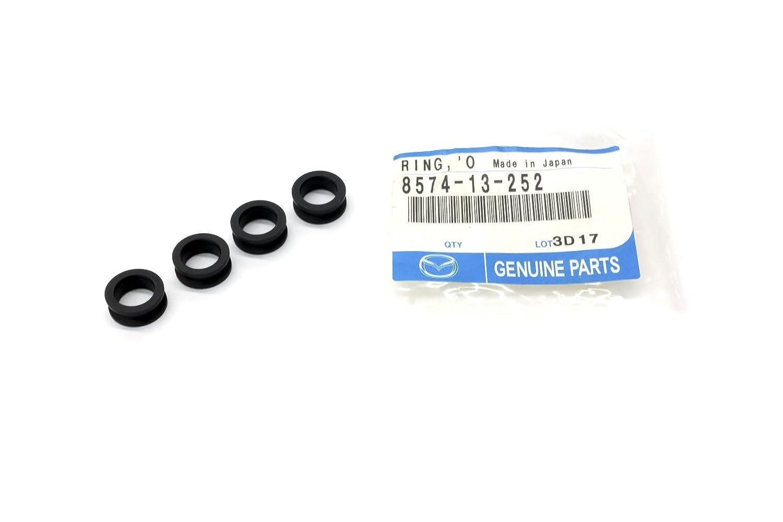 1990-2005 Mazda Miata Set Of 4 Upper Fuel Injector Seals OEM