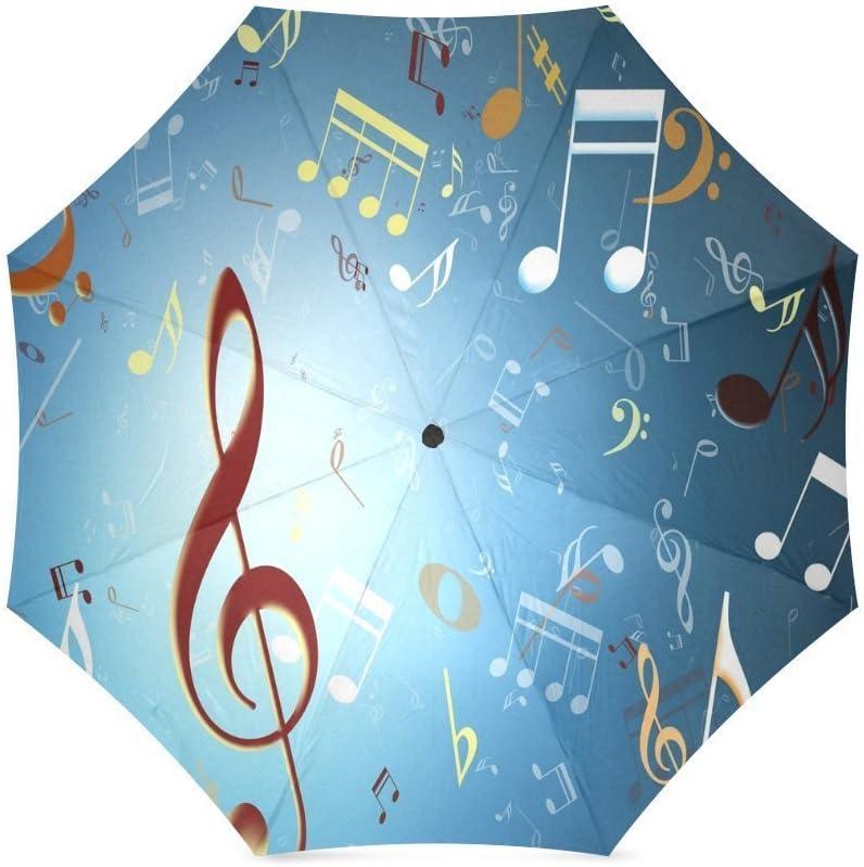 ZLFのLOVE Customized Musical Note Foldable Umbrella