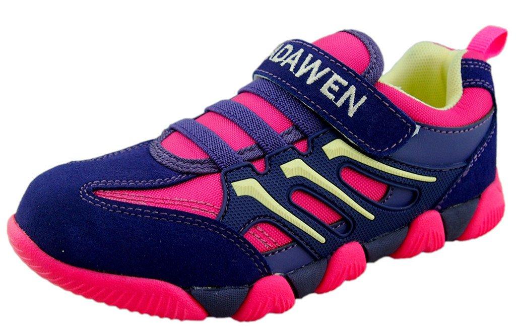 DADAWEN Kids Boys Girls Outdoor Sneakers Strap Athletic Running Shoes (Toddler/Little Kid/Big Kid) 10066