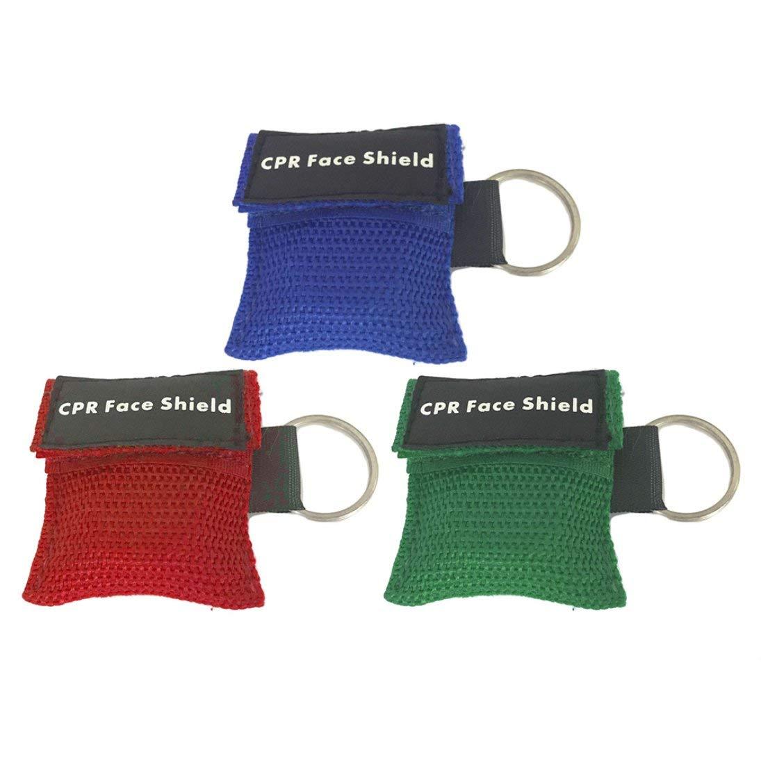 Primeros Auxilios Mini RCP Llavero Máscara/Protector de Cara ...