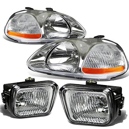97 civic clear headlights - 6