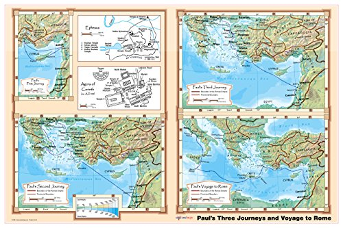 pauls-journeys-and-voyage-to-rome-bible-christian-wall-map-poster-36x24-paper-2016