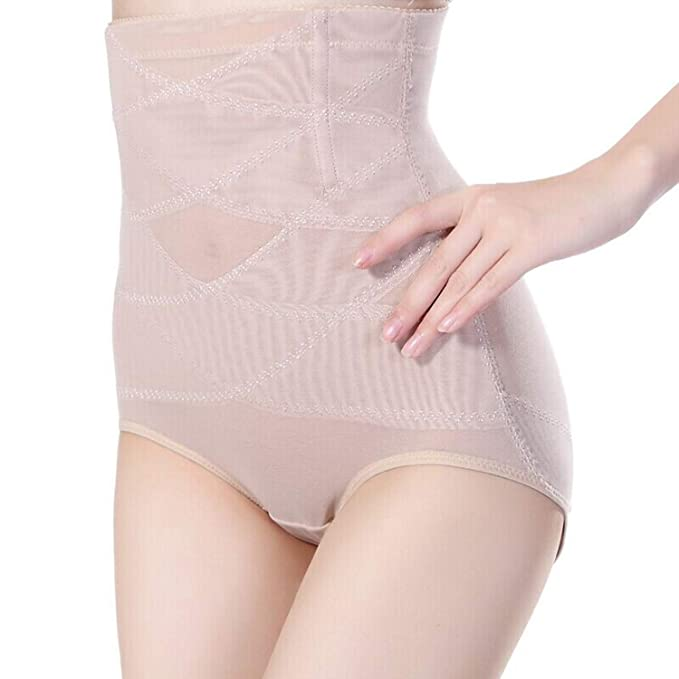 fd9e4ba31a Image Unavailable. Image not available for. Color  High Waist Body Shaper  Girdle Sexy Belly Hip Control Panties Seamless Underwear Corset ...