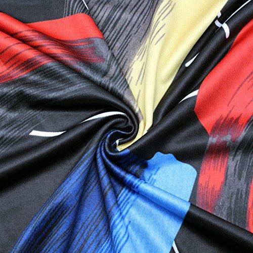 Novias Mujer Fashion Multicolor Impresión Playa Maxi Faldas larga falda de talle alto Painting