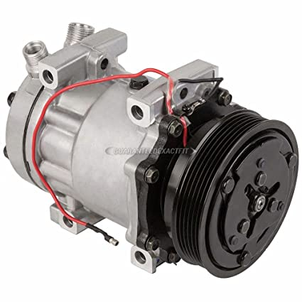 Amazon.com: AC Compressor & A/C Clutch For Sanden SD7H15 Style - BuyAutoParts 60-02200NA New: Automotive