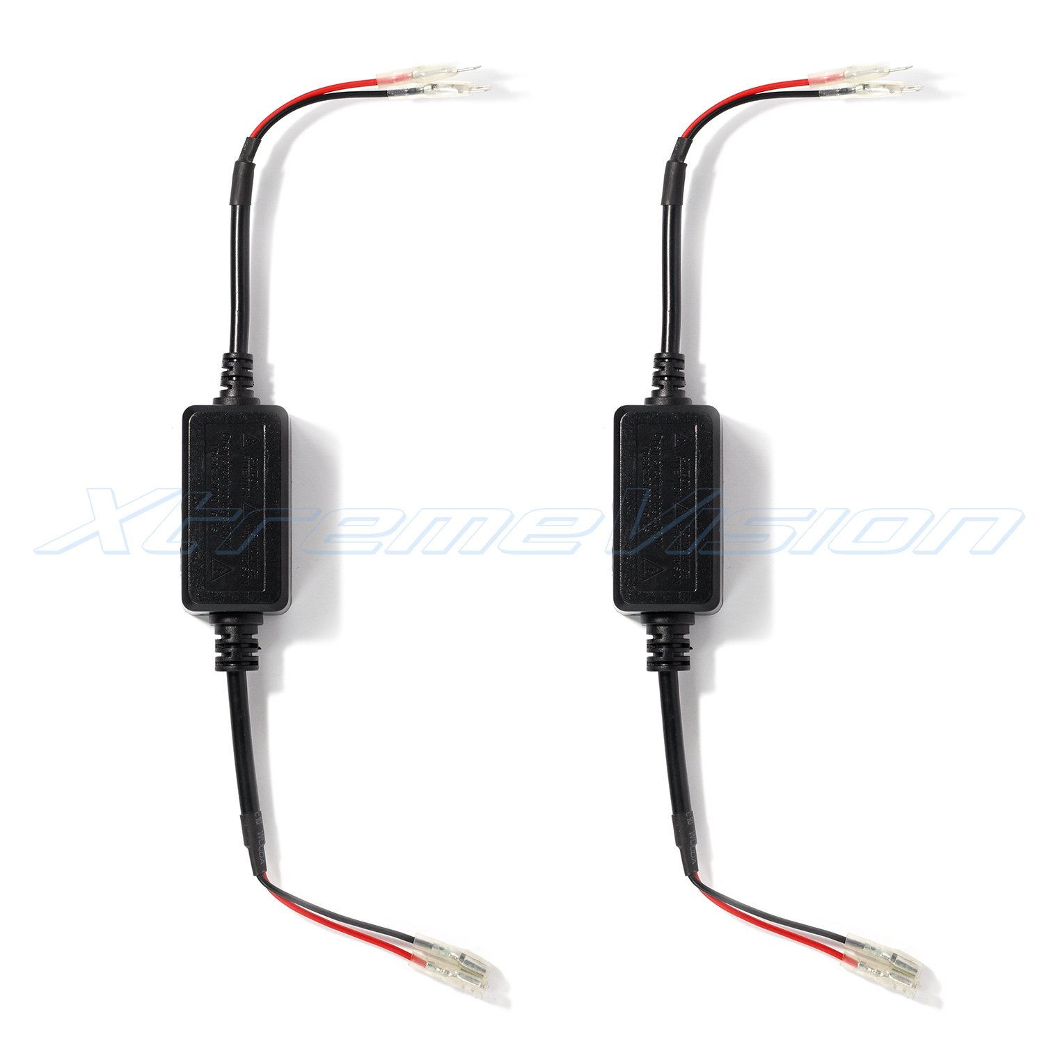 XtremeVision LED Anti Flicker Capacitors 1 Pair - H1 // H7 Error Code Canceller Capacitor
