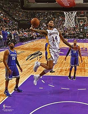 984362b63 Brandon Ingram Los Angeles Lakers Autographed 8 quot  x 10 quot  Dunk  Photograph - Fanatics Authentic