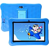 Tablet para Niños 7 Pulgadas con WiFi Android 6.0 Quad Core 2GB de RAM 32GB ROM Doble Cámara Kid-Proof Funda Tableta Niños de 2-12 años y Juegos Educativos Preinstalados