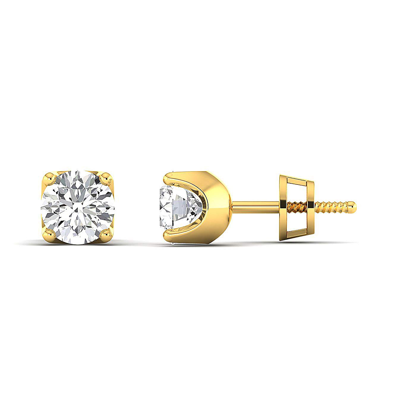 Diamond Stud Earrings Diamond Earrings 0.30 to 4 Carat 100/% Pure Diamond Earrings Lab Created Diamond Earrings SI-FG, Round Brilliant Diamond Jewelry Gift for Women