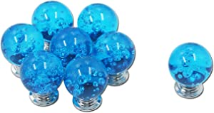 Cabinet Knobs Mcredy Crystal Knobs for Dresser Bubble Drawer Knobs 1.2