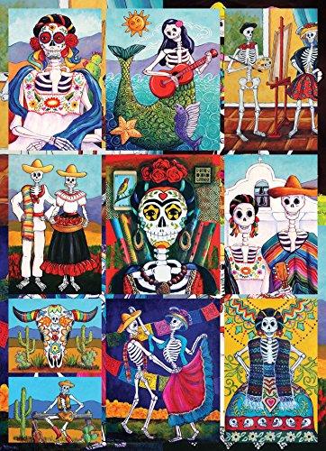 Dia De Los Muertos 1000 Piece Jigsaw Puzzle Halloween Artist Candy -