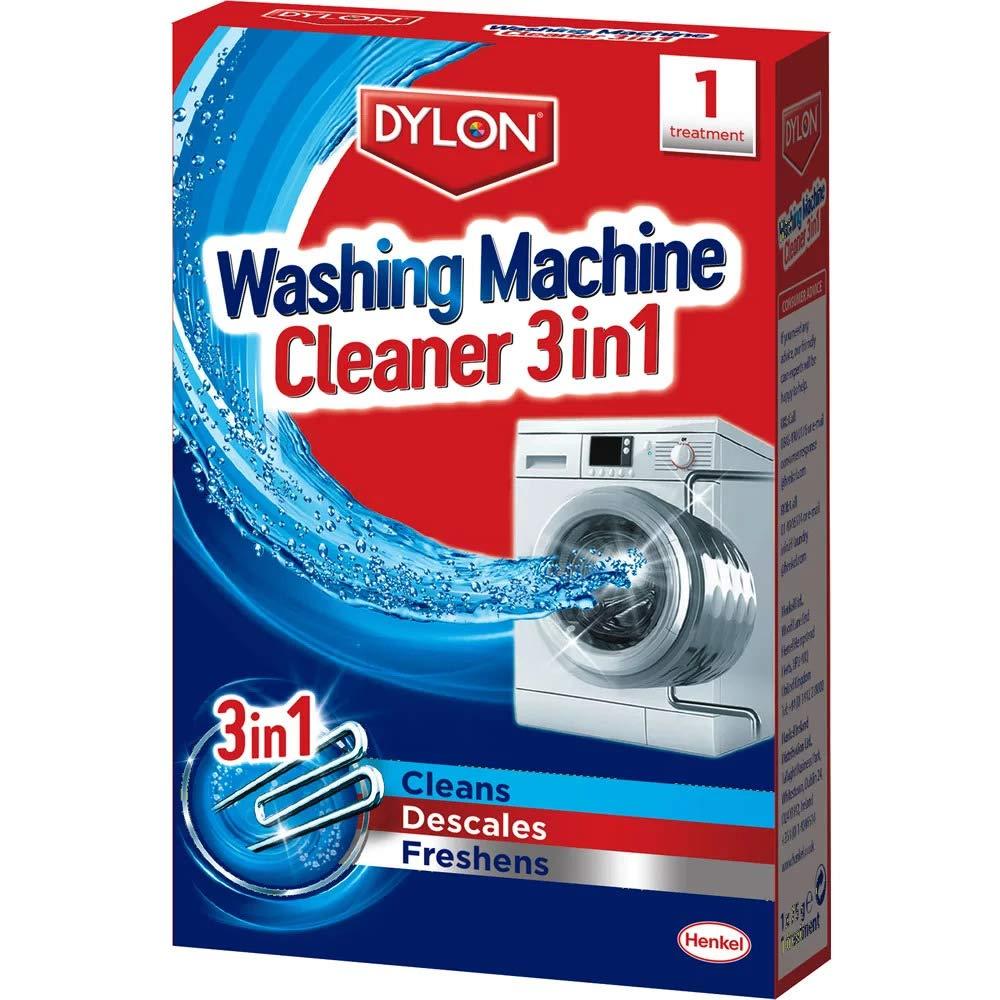 Dylon Washing Machine Cleaner 3 in 1 (2 Sachets) Dylon 3-in-1 2044326
