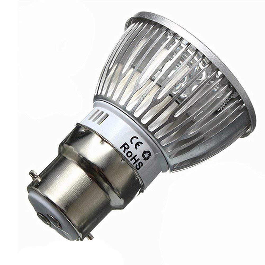 Auraglow 24w Hydroponic Full Spectrum Greenhouse LED B22 Grow Light Bulb…