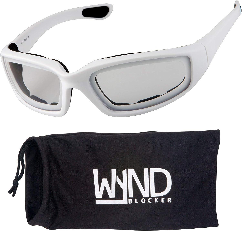 WYND Blocker Motorcycle /& Biking Wind Resistant Sports Wrap Sunglasses