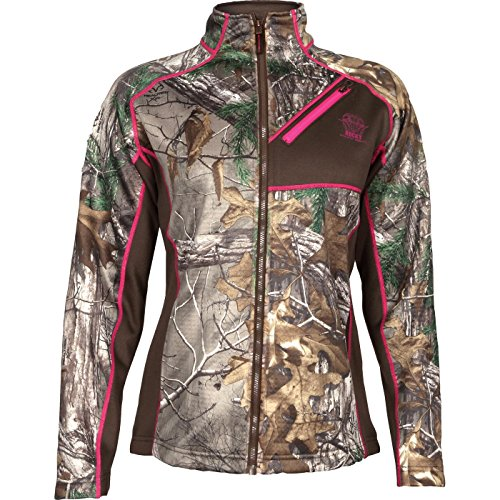 (Rocky Women's Athletic Mobility Fleece Jacket, Realtree Extra Camouflage, Small)