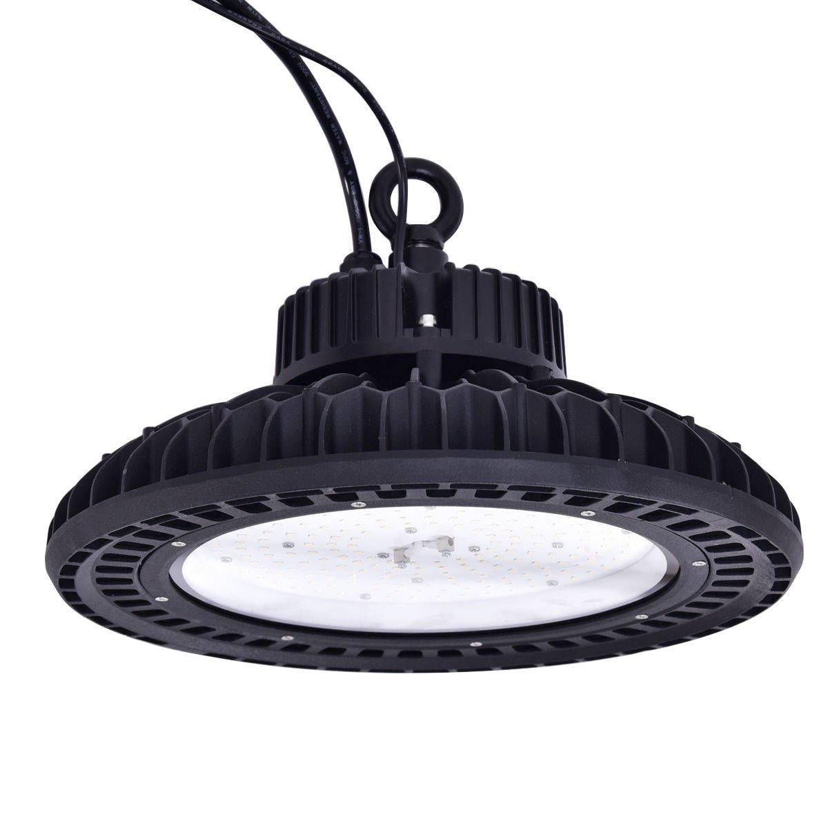 Goplus 150W LED High Bay Light 18820 Lumen Mining Lamp 5000K Warehouse Lighting Commercial LED Light Retail LED Light