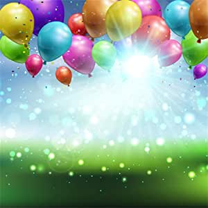 FEASRT Balloon Backdrop for Christmas Party Banner 10x7ft Festival Event Background Photo Video Studio Props LYAY1250