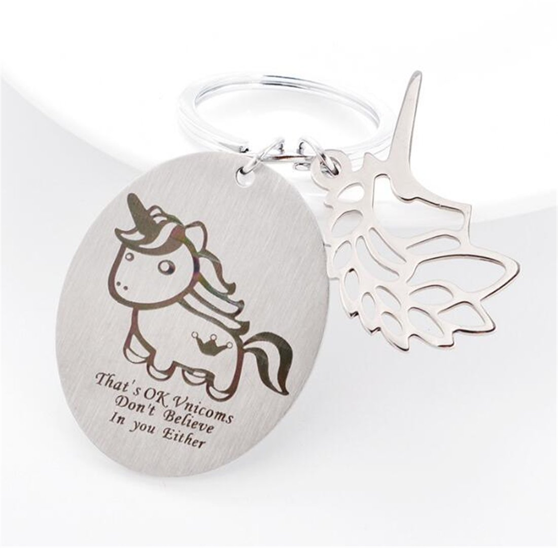 Tmrow 1Pc Drive Safe Keychain Gift for Boyfriend Husband Drive Safe Handsome I Love You