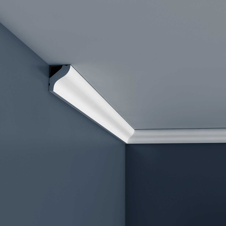 Orac Decor CB500 BASIXX Zierprofil Zierleiste Stuck-Leiste Eckleiste Dekor-Element Wand-Leiste Decken-Leiste | 2 Meter