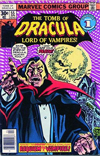 Tomb of Dracula #55 VF ; Marvel comic book
