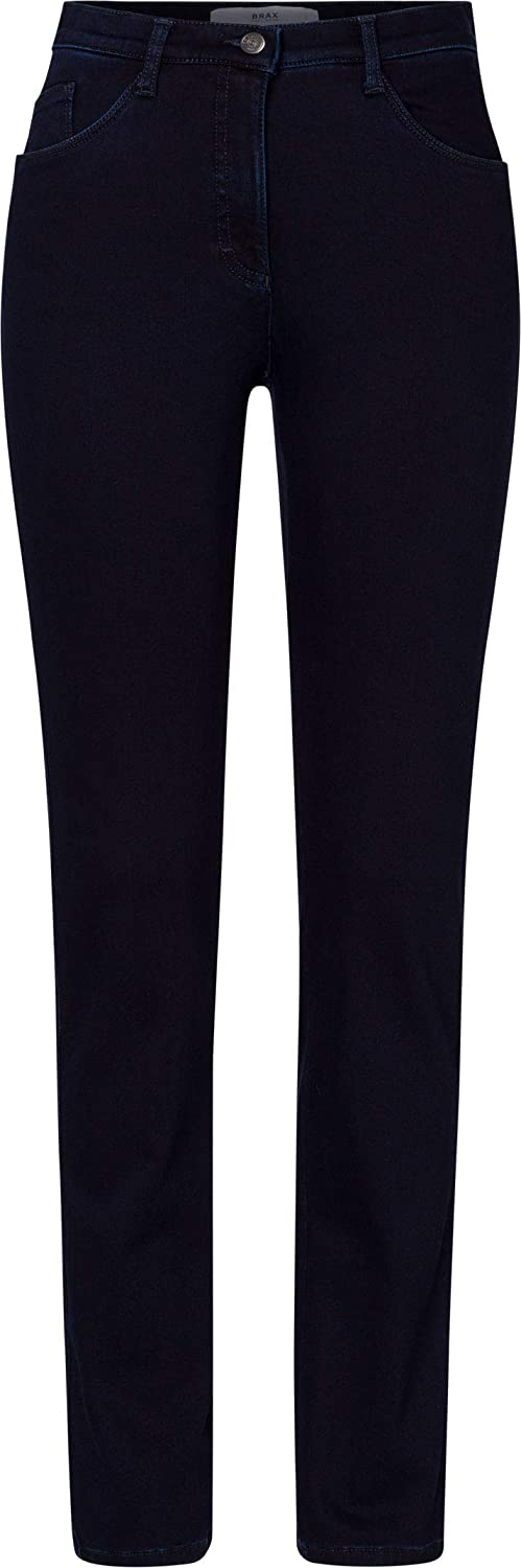 BRAX Damen Style Mary Slim Jeans Clean Dark Blue