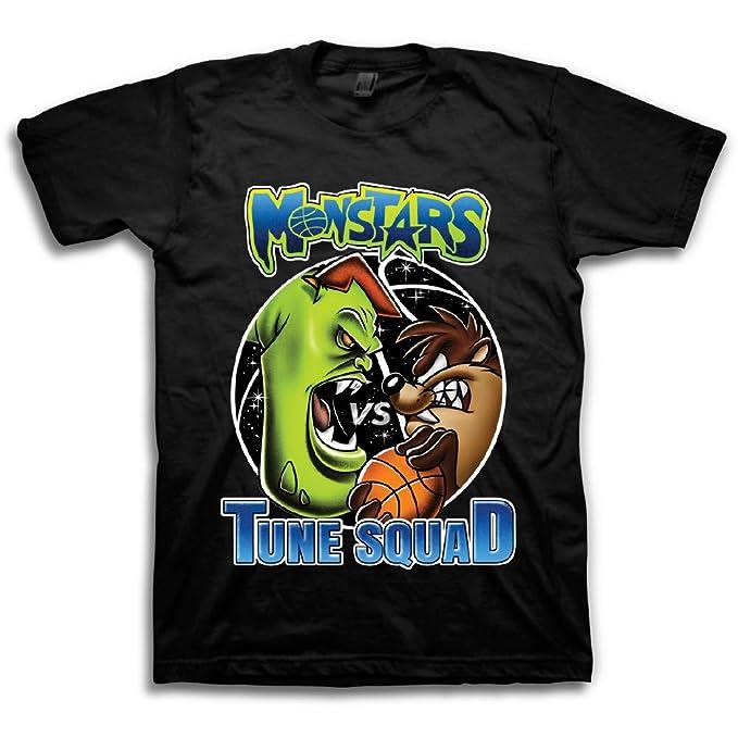 07a8b9f65d3 space jam Mens Classic Shirt - Tune Squad Michael Jordan & Bugs Bunny Tee  90's Classic T-Shirt