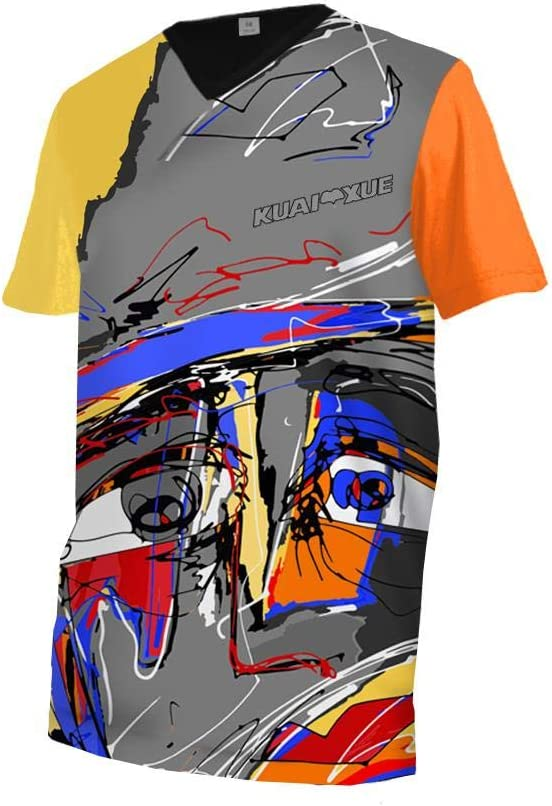 Uglyfrog Racewear MX Motocross Maglia Downhill Jersey Enduro Fuoristrada Fuoristrada Quad Cross Adulti Manica Corta//Lunga MTB Top
