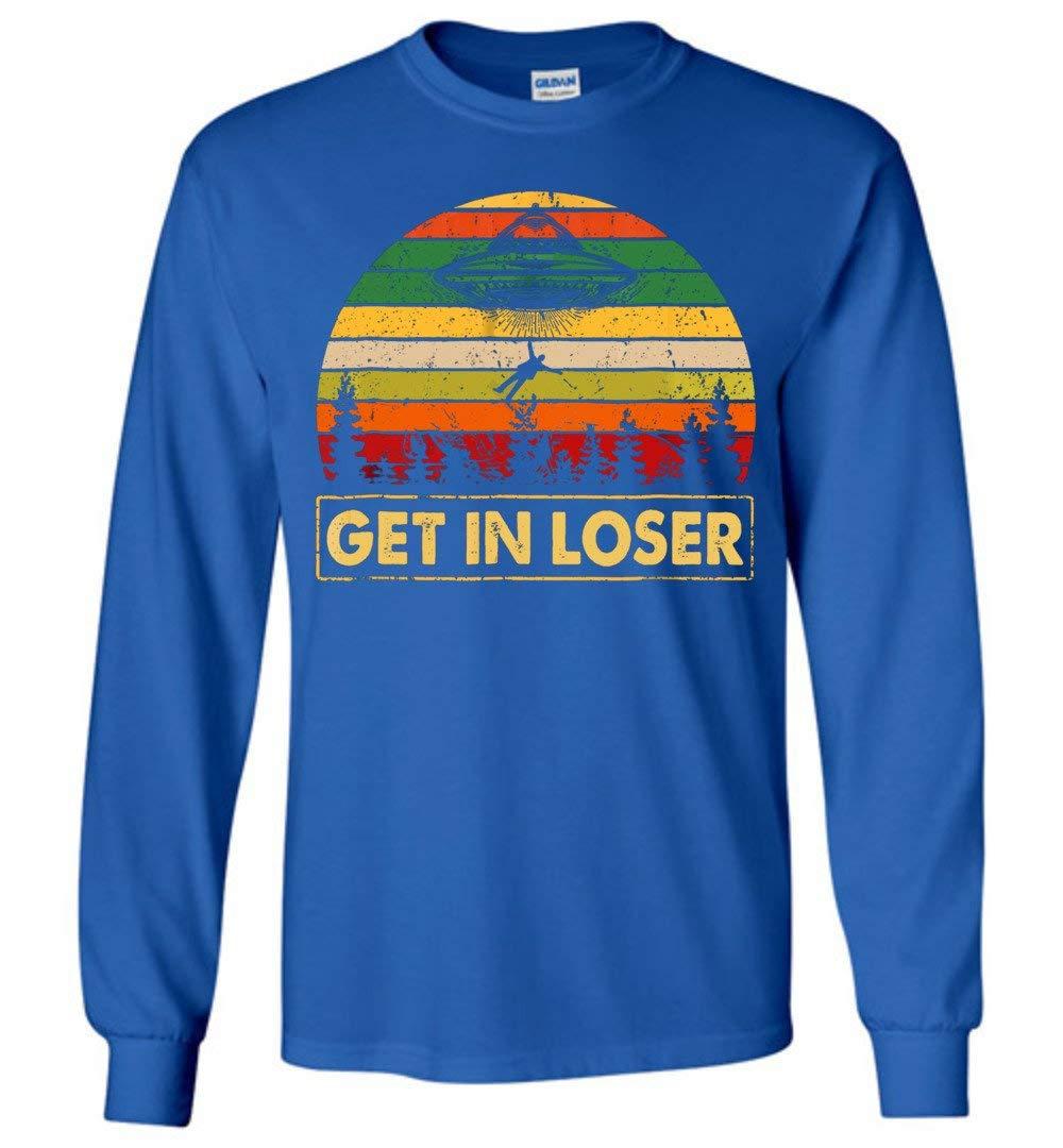 Get In Loser Vintage Adult Shirts