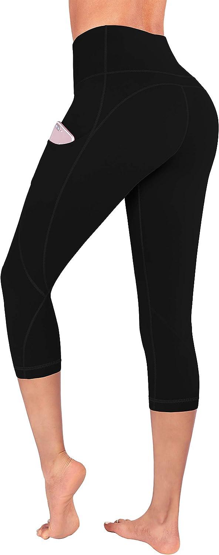 FUNANI High Waist Yoga Pants with Pockets, Yoga Pants for Women Running Workout Yoga Leggings with Pockets
