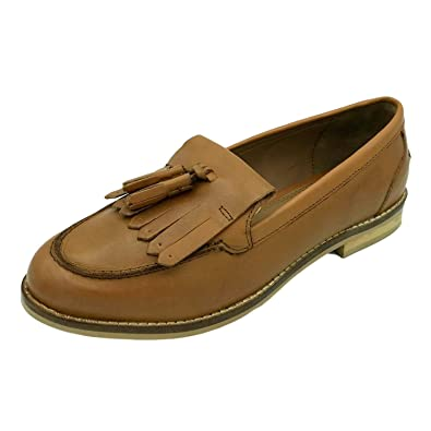 order running shoes cheap sale Womens Ladies Flat Slip On Tan Brown Genuine Leather Tassel Fringe Loafers  Summer Casual Smart Low Formal Wide Fit Shoes Size 2 3 4 5 6 7 8 9