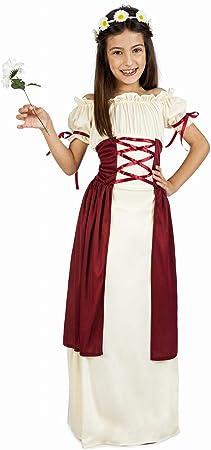 Disfraz de Dama Medieval Festival para niña: Amazon.es: Juguetes y ...