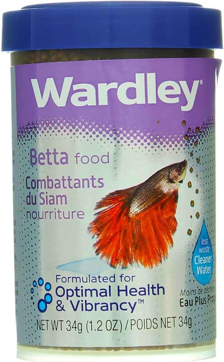 Hartz 01648 Wardley Betta Premium Food 1.2 Oz
