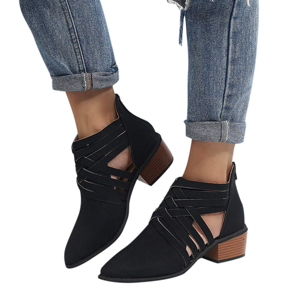 Nadition Women Ankle Bootie 2018